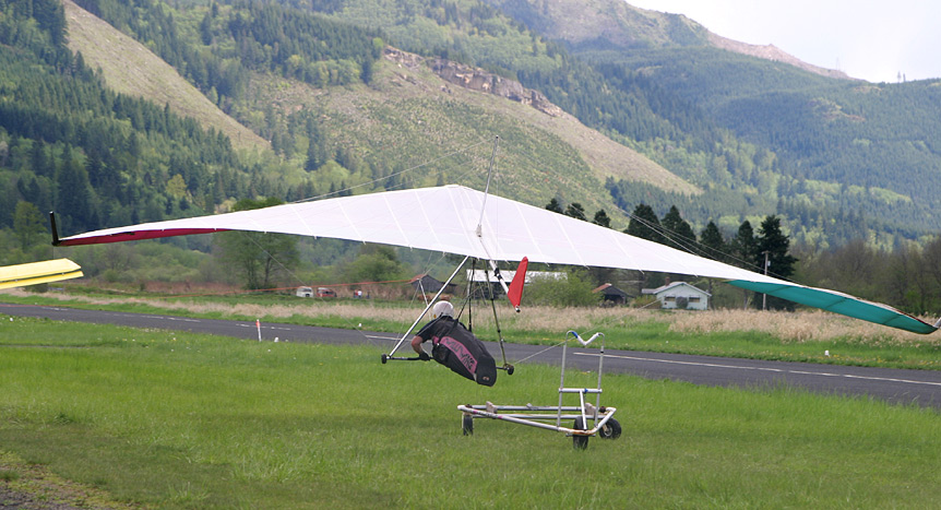 Hang Gliding Aerotow Launch