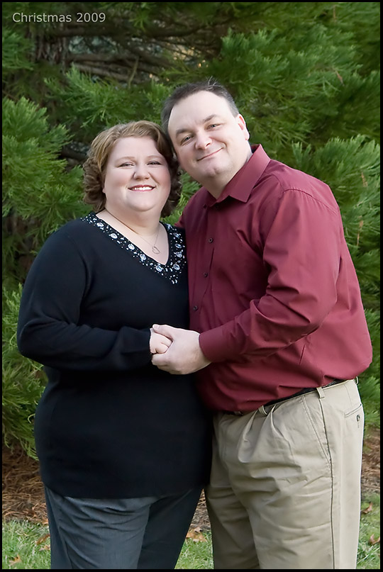 My Wife and I - Christmas 2009